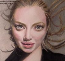 Amanda Seyfried  ~ Colored Pencil by lemgras330
