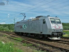 ITL traxx - 185 548-5 in Gyor by morpheus880223