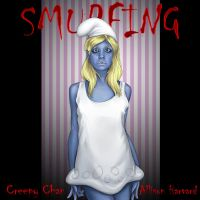Creepy Chan Smurfette by colbalt0700