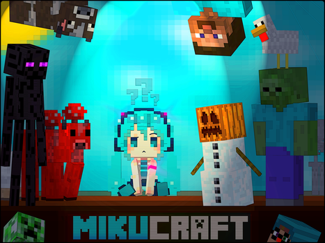 #MikuCraft! by ArisenStar