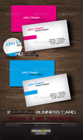 2Colours Business Card by panos46
