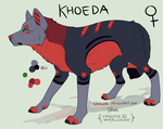 Khoeda Ref {Current/New} by WolfPawCreator