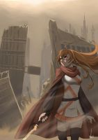 Mirai Suenaga - Distant Future by arcbuncle