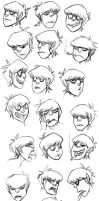 Murdoc's Head by anniemae04