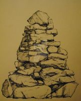 Cairn by sugarpuddle