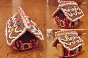 Gingerbread house by curry-brocoli