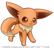 Eevee Icon by RebeccaAlexa