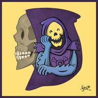 Skeletor, Lord Of Destruction. by stayte-of-the-art