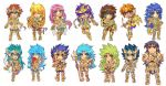 St.Seiya Key-chains All by zaionic