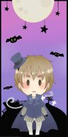 Bookmark APH Halloween England by Owyn-Sama
