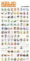Keijo Region Pokedex by JoshKH92
