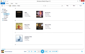 Windows Media Player - WMP 13 Concept by luxorus
