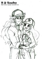 PKMN: N n Touko 2 years later by Mary-McGregor