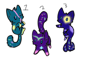 spacy cat adoptables- 5 points by TheDoctur