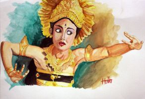 Bali Dancer by sonbab