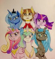 Avengers of Harmony - COMMISH by ameliacostanza