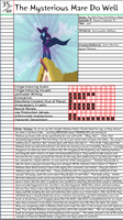 MLP:FiM - The Mysterious Mare Do Well Notepage by Duckyworth