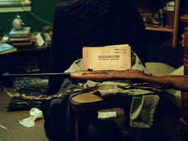 My 1937 Mosin Nagant and 1943 manual by eliteracer