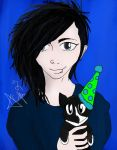 Andy Biersack and Crow by xPerfect-Weaponx