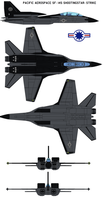 Pacific Aerospace SF-14S Shootingstar-Strike by bagera3005