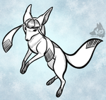 Glaceon by Kimi133