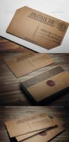 Letter Style Business Card 2 by vitalyvelygo