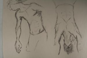 Sketches Male Figure by adambomb7