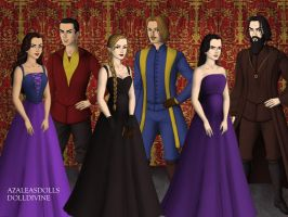Disney and Non-Disney Villains by ArielxJim08