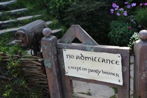 No Admittance by Pickley