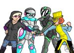 The Team (In Costume) by thedoctorsginger