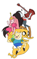 adventure time: Ladies and Gents by Patrial