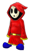 Shy Guy by Bradshavius