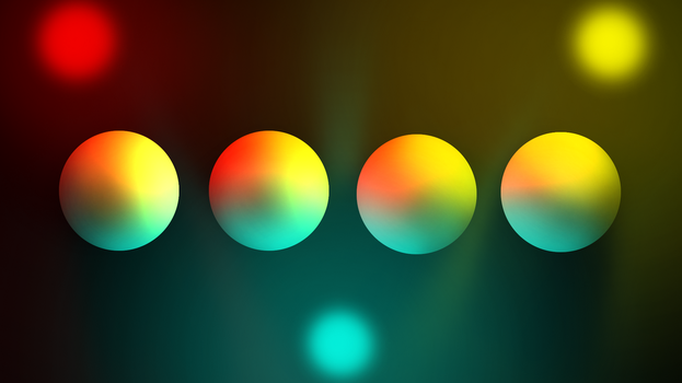Photoshop Coloured Lighting Guide by AMKitsune