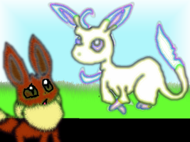 Eevee Might Turn into Leafeon by EvilSonic2