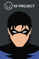Nightwing Minimalist by KF-Project