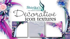 Decorative Framed Icon Textures by spiritcoda