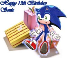 Happy Birthday 19th_Sonic by aprict
