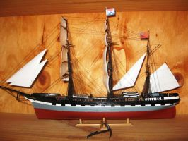 Model of the Iron Clipper - LOCH SLOY 1877 - 1899 by phasai