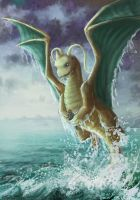 Dragonite by Ruth-Tay