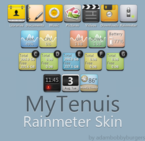 MyTenuis for Rainmeter by adambobbyburgers