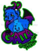 Commission - Gaia Badge by KatWithKnives