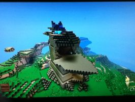 Fortress Craft: Saris Rock by Plazma-Reaper