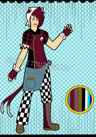 Waiter Adopt Auction (Closed Keeping him) by xXScarletStarletXx