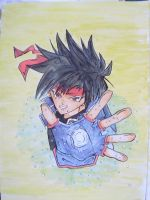 orphen watercolour by Lord-Sevy