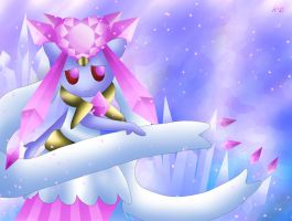 Mega Diancie by Rose-Beuty
