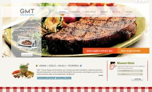 GMT FOOD WEBSITE by grafiket