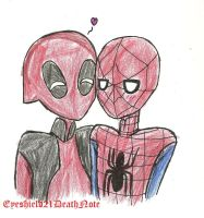 just some spideypool by ThePastelHobbit