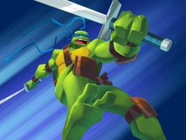 TMNT BTTS: Main Titles Leo 2 by E-Mann