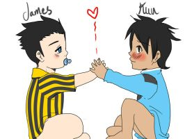 Baby james y kun by Irumi69