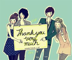 A big THANK YOU to you all by drrecords